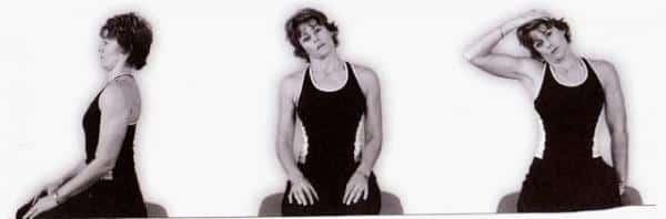 neck lateral flexion exercise